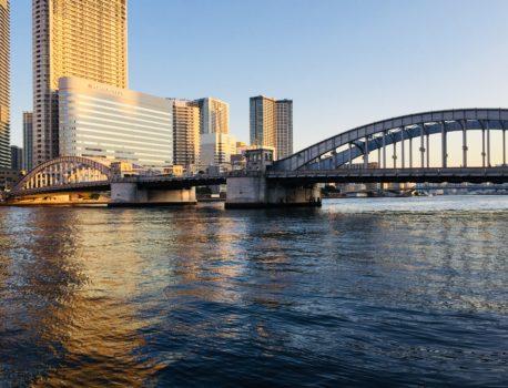 【Greenコラム】水の都、日本橋~勝どき橋~