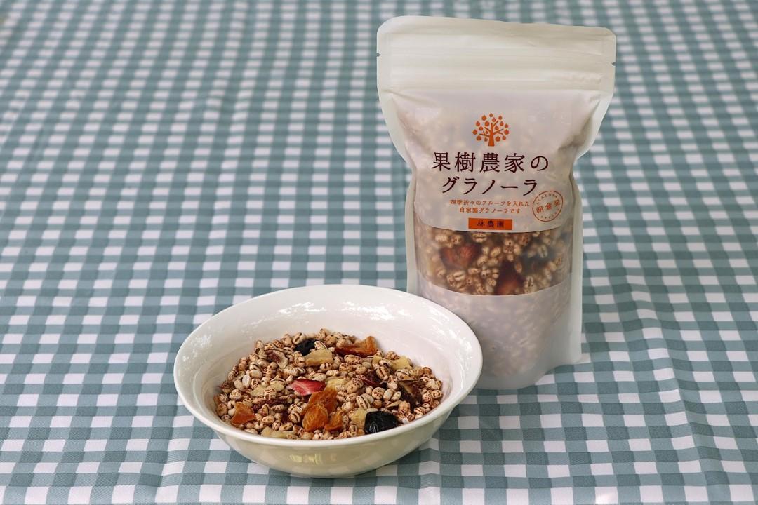オーナー・権藤優希の地元福岡の果樹園農家・林農園様の『ドライフルーツ』『グラノーラ』販売を開始しました。
